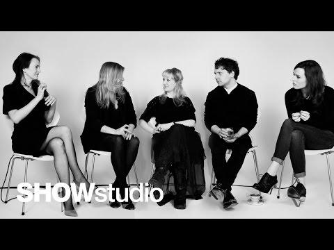 SHOWstudio: Oscar de la Renta - Womenswear Autumn/Winter 2013 Panel Discussion