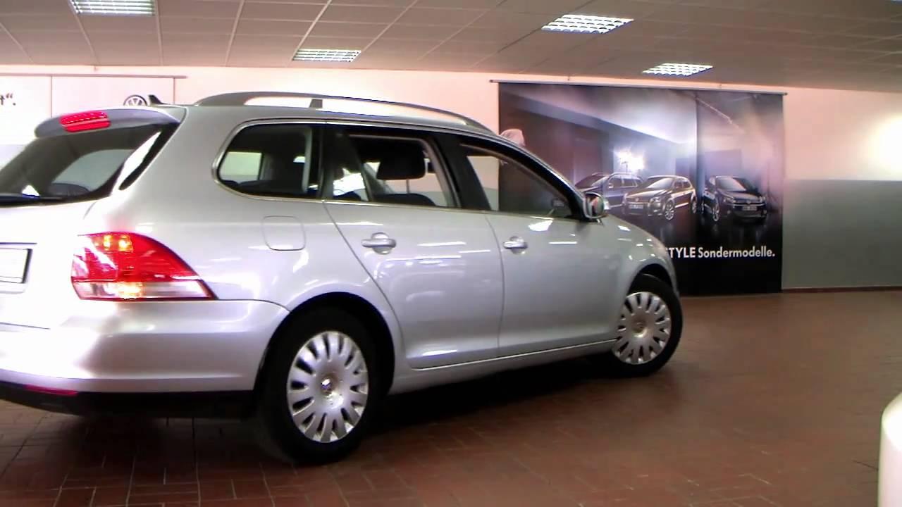 volkswagen golf v variant 1 4 tsi comfortline 2008 silber. Black Bedroom Furniture Sets. Home Design Ideas