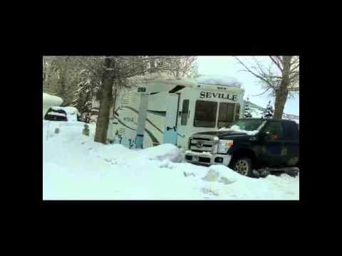 Spending an Entire Winter in an RV in the Rocky Mountains