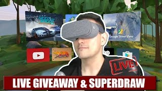 LIVE GIVEAWAY & PATRON SUPERDRAW: DAYDREAM DISTRICT VR T-SHIRT, TOY CLASH, UNDERWORLD OVERLORD...