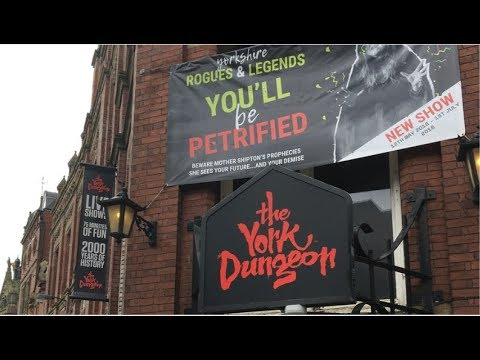 The York Dungeon Review May 2018