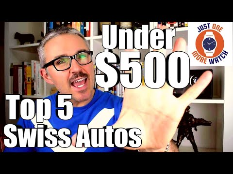 Top 5 Swiss Automatics Under $500 - Glycine, Certina, Hamilton, Raymond Weil, Bulova
