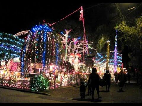 2020 Oakdale Christmas Lighting Oakdale Christmas House Light Display St Pete Florida   YouTube