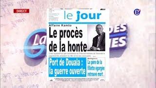 LA REVUE DES GRANDES UNES DU VENDREDI 06 SEPTEMBRE 2019 - ÉQUINOXE TV