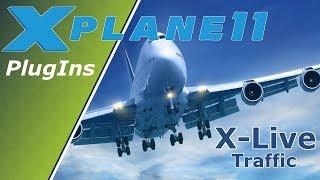 X-Plane 11 ✈️| Плагіни Поради | X-Live Traffic | Німецька German