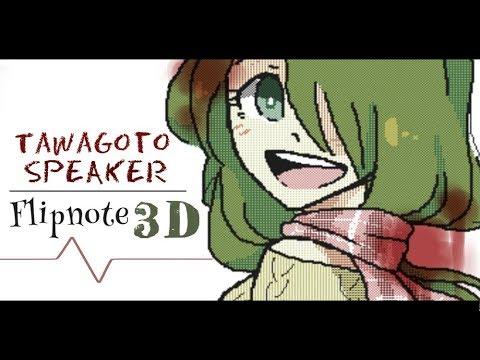 [MV] Tawagoto Speaker (Suicidal) - FLIPNOTE 3D
