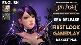 Talion MMORPG by Gamevil Gameplay Android (SEA Release)