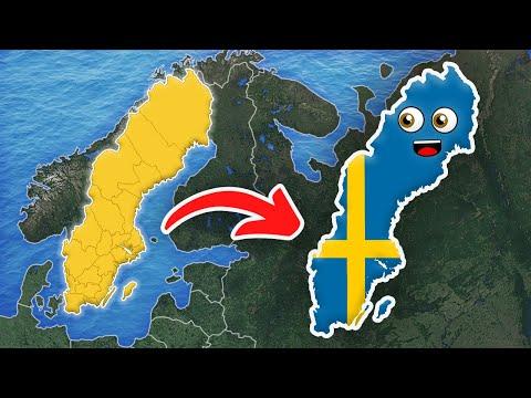 Sweden/Sweden Country/Sweden Geography