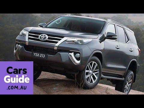 2015 Toyota Fortuner SUV revealed