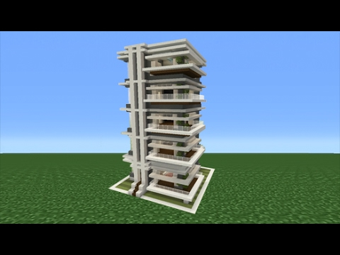 Minecraft Tutorial How To Make An Apartment Building Youtube