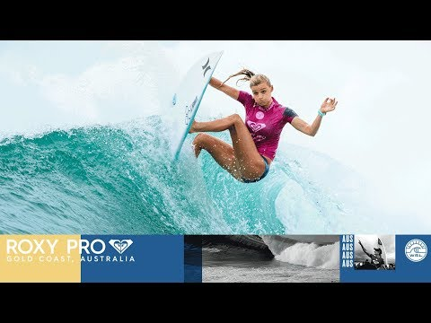 Lakey Peterson Scores First 9 of the Year - Roxy Pro Gold Coast 2018 Highlight