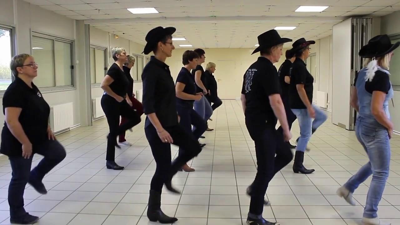 f846b723a00dfa PARIS TENNESSEE Line Dance - danse et compte - YouTube