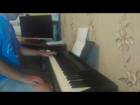 1 месяц занятий на фортепиано - progress 1 month piano