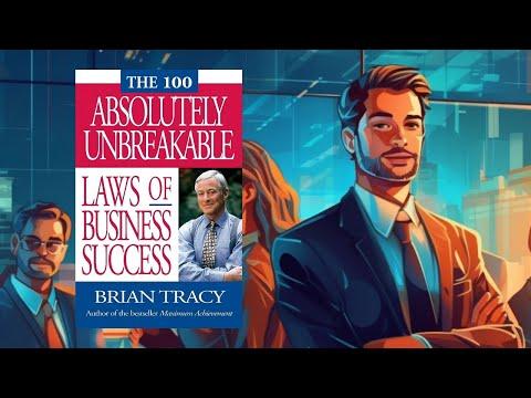 ملخص كتاب صوتي - مائة قانون صارم للنجاح في دنيا المال و الأعمال - براين ترايسي
