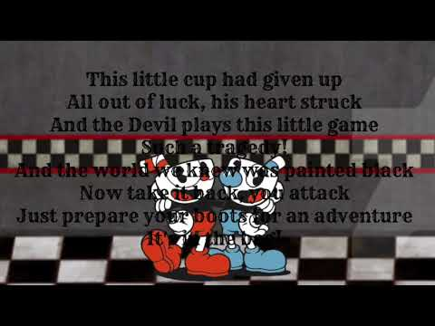 "DAgames: ""Brothers In Arms (Cuphead Song)"" just lyrics"