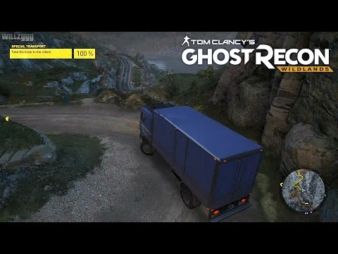 Ghost Recon Wildlands (PS4) - Mission #18 - Special Transport