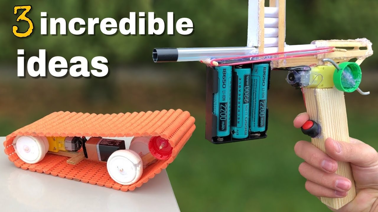 3 Incredible Ideas For Fun Or Awesome Diy Toys Youtube