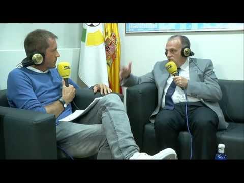 Entrevistas a Javier Tebas en El Larguero [12/10/2016]