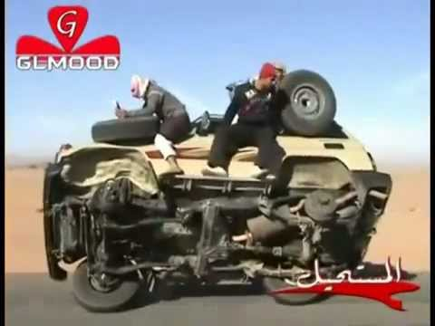 Thumbnail: Saudi got talent - removing tyre while car running
