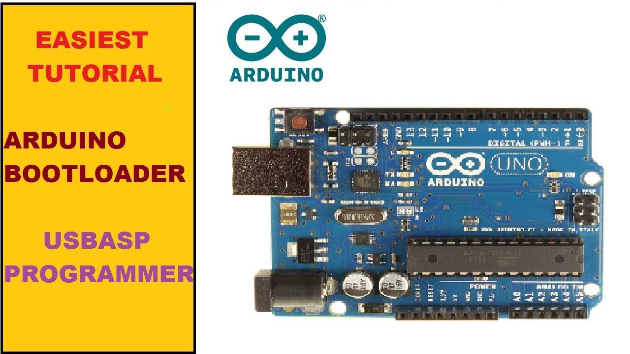 Burn arduino bootloader using usbasp youtube