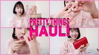 Pretty Things Haul | Noonoo Fingers, 3CE and CUTE BAGS!