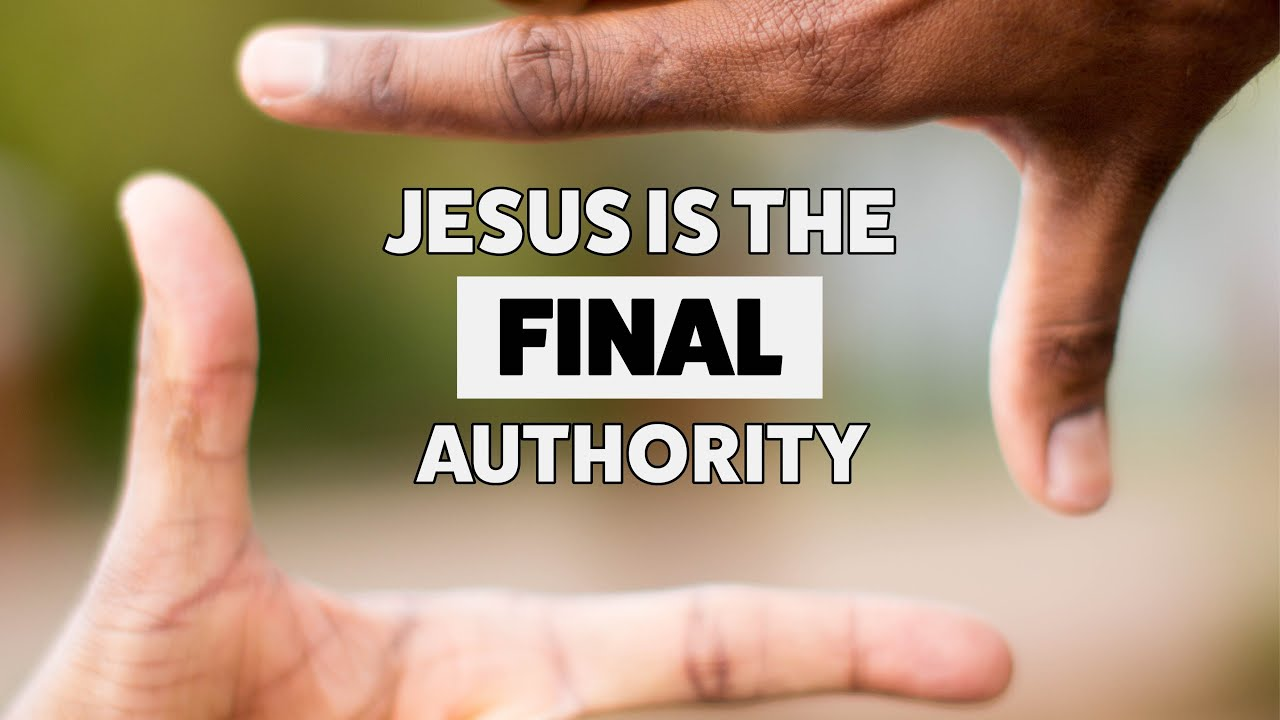 Image result for authority of jesus