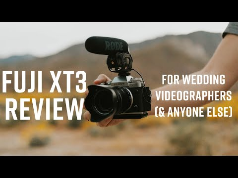 Fuji XT3 Review: The Best Camera For Wedding Videography? 4k60 AND 10bit 4:2:2!?