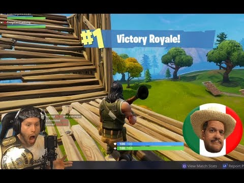 DUOS WIN WITH TROYDAN! ON FIRST TRY! - Fortnite -