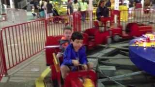 Classic Fire Truck Ride - Wonderland Pier - Ocean City, NJ