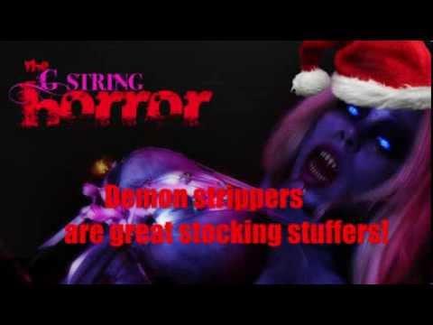 G-string Horror Christmas Greetings!