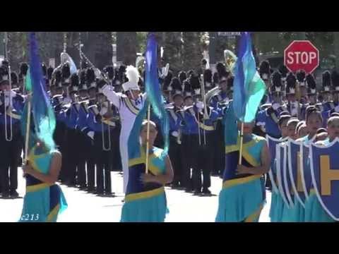 Anaheim HS - Zacatecas March - 2015 Loara Band Review