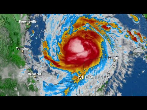 Live: Tracking Tropical Storm Delta As It Makes Landfall In Louisiana | NBC News