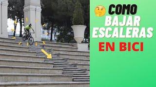 Técnica  MTB: Como bajar escaleras con tu mountain bike