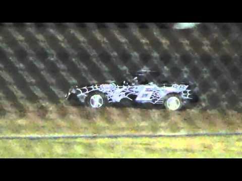 Ark La Tex Speedway ZERO Cancer Night 4 Cylinder A feature part 1 4/2/16