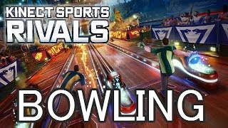 "BOWLING- ""Kinect Sports Rivals"" - Live Co-Op Gameplay Walkthrough Xbox One"