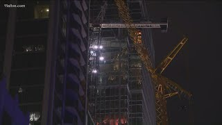 Latest on work to remove compromised crane in Midtown Atlanta
