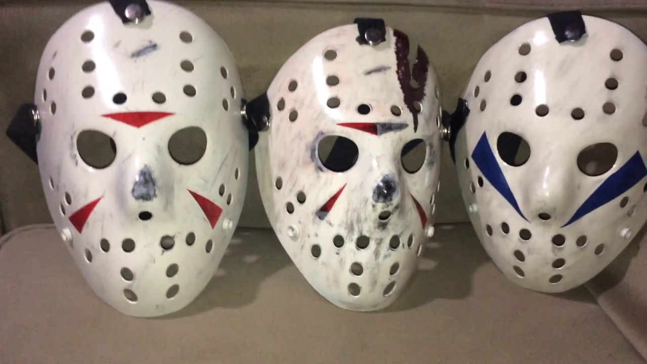 Custom Friday The 13th Jason Voorhees Hockey Masks Part 3 4 5