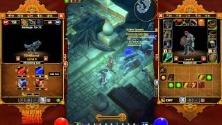 torchlight act 1 dungeon gameplay   pet trading   aoe frost embermage   kiting