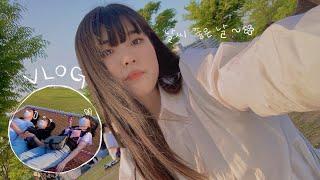 Vlog • 미세먼지 없는 맑은 날 여의나루 뮤비재질