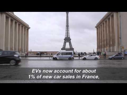 The growing electric vehicle market in France