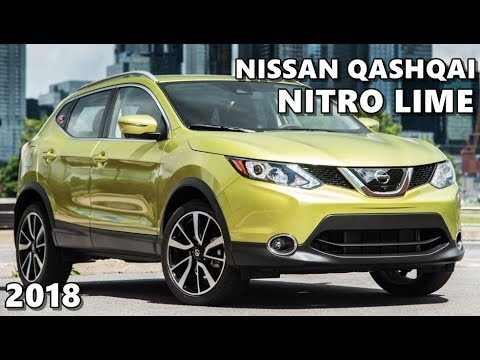 2018 Nissan Qashqai In Nitro Lime Metallic Eye Candy