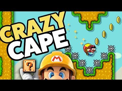 Super Mario Maker - AMAZING CAPE LEVELS! - Level Showcase