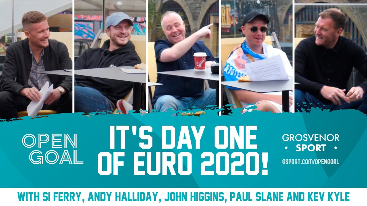 IT'S DAY 1 OF THE EUROS! w/ Snooker Champion John Higgins