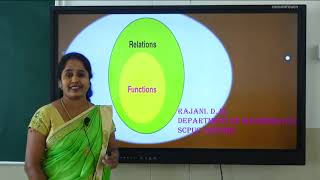 II PUC | Mathematics | Relations and Functions - 01