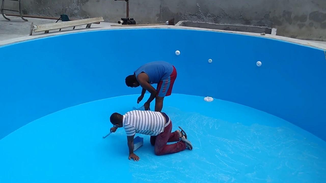 Transforme uma piscinas de azulejos alvenaria em piscina de fibra equipe mmpiscinas youtube - Toboganes para piscinas baratos ...