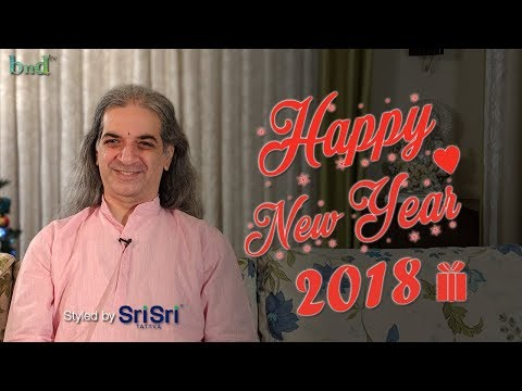 Happy New Year Message from Bawa for 2018