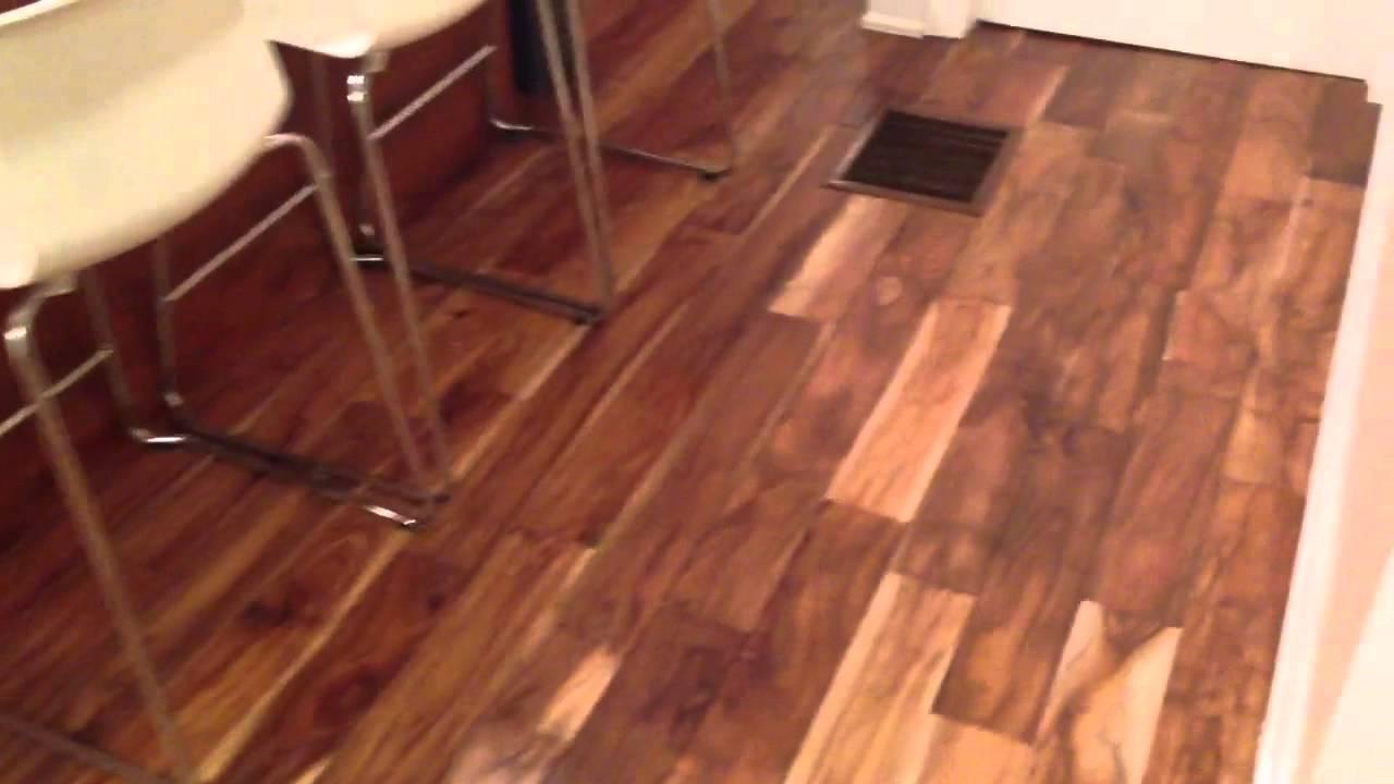 Floorama Flooring Hand Scraped Small Leaf Acacia Hardwood