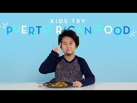 Kids Try Puerto Rican Food | Kids Try | HiHo Kids