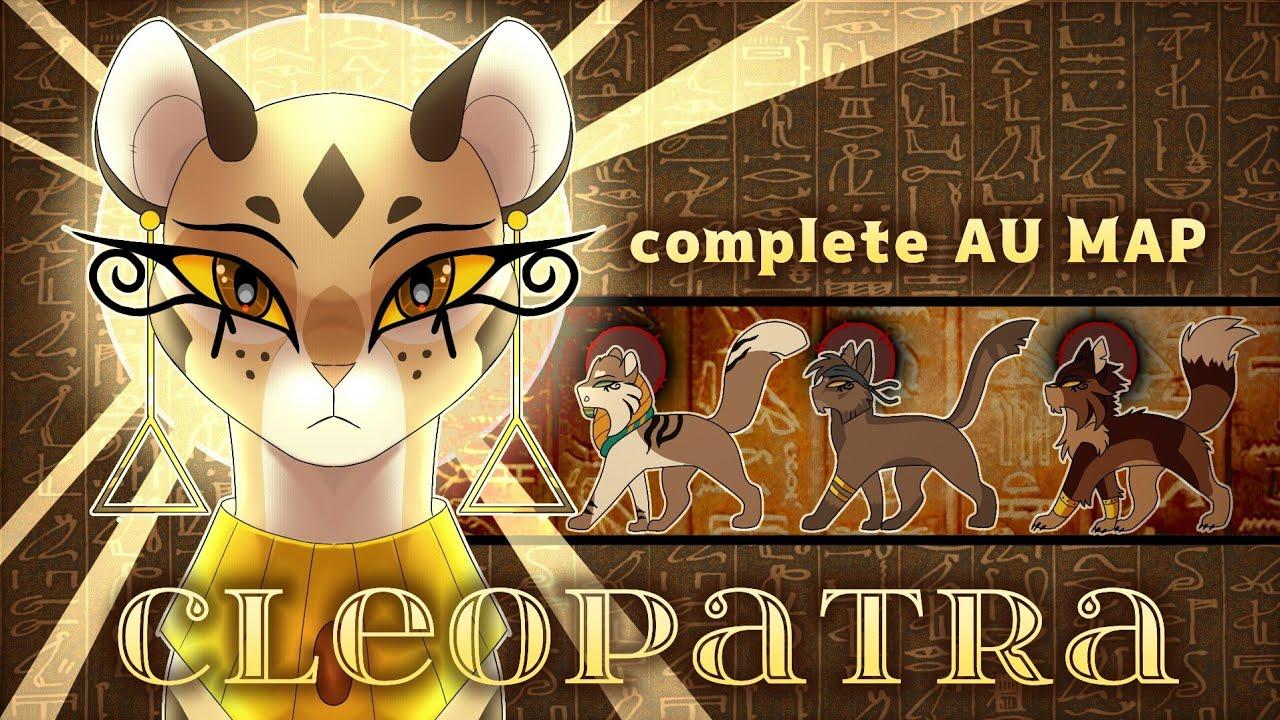 • CLEOPATRA • Leopardstar AU MAP •
