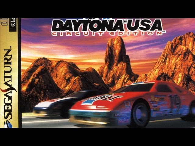 Classic Game Room - DAYTONA USA CIRCUIT EDITION review for Sega Saturn